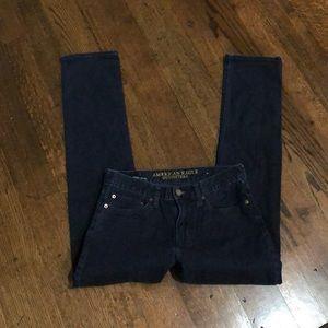 American Eagle dark wash slim jeans